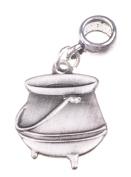 Harry Potter Pendant Cauldron Slider Charm 2x1.6cm Jewellery Zinc Plated