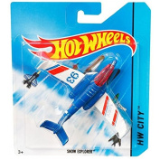 Hot Wheels Sky Busters SNOW EXPLORER Die-cast Aircraft