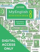 Oxford MyEnglish 8 for WA Curriculum Student obook assess+upskill