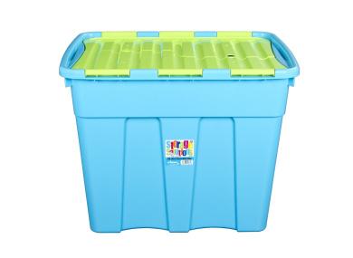 Wham 11861 Storage Solution Storage Box Polypropylene 60 x 43.5 x 46 cm - Blueberry