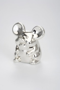 Big Ear Mouse Money Box - Silver Plated