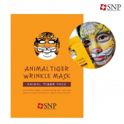 SNP Animal Mask (Pack of 10) Tiger Wrinkle