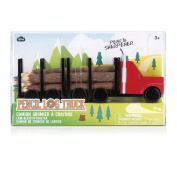 Log Truck - Colouring Pencils with Sharpener