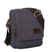 Artone Men's Water Resistant Canvas Crossbody Messenger Bag