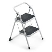 Framar Major 2 Step stool in Steel, 2 Steps
