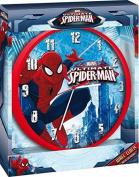 Marvel Ultimate Spider-Man Childrens 24cm Wall Clock