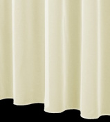 Cheshire Fine Woven Voile Net Curtain Sold By The Metre. (Including Professionally Finished Sides). 110cm Drop in Champagne.
