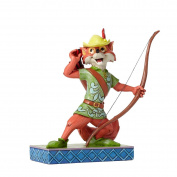 Disney Traditions Roguish Hero Robin Hood Figure - Multi-Colour