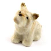 MyTinyWorld Dolls House MIniature Ceramic Scottie Dog