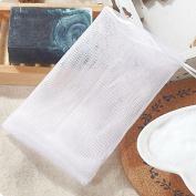Dealglad® 5pcs Double Layer Bubble Foam Net ,Handmade Soap Easy Bubble Mesh Bag,Body Facial Cleaning Tool