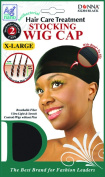 Donna's Antibacterial Hair Care Treatment Stocking Wig Cap 2 Caps X-Large