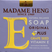 Vitamin E Bar Soap, Natural Balance with Nourishing Grape Extracts, Soothing Properties for Hydrate & Comfort Skin, 150g
