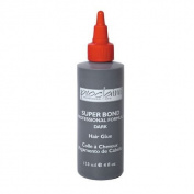 (1) Super Bond Hair Glue Dark 4 - oz and (1) FREE Super Bond Hair Glue Dark .2220ml Set TOP RATED!