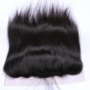 Derun Hair Best Quality 100% Virgin Brazilian Human Hair Silky Straight 50cm 13*4 Natural Colour ear to ear silk base Frontal Closure