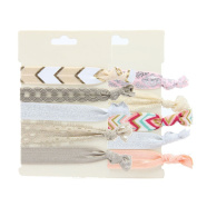 Elastic Styling Accessories Pony Tail Holder Ribbon Bands