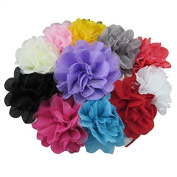 XIMA Big Flower Baby Headbands Hair Accessoires Pack of 11pcs