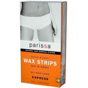 Parissa Wax Strips Face And Bikini - 16 Strips