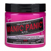 Cotton Candy Pink Manic Panic 120ml Hair Dye