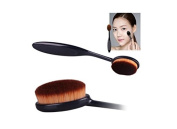 Perfect shopping Pro Cosmetic Makeup Face Powder Blusher Soft Toothbrush Curve Foundation Brushes