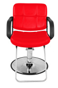 Classic Hydraulic Barber Chair Salon Beauty Spa Styling Red 8837