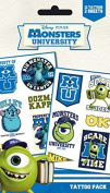 Monsters University Tattoo Pack - Mike And Sulley, 12 Tattoos