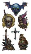Skulls Temporary Tattoo