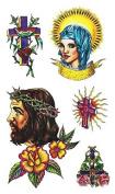 Temporary Jesus Tattoo