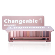 Ucanbe Naked Earth Colour Eyeshadow Palette 12 Colours Matte Eye Shadow Makeup Kit