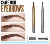 Pinkiou 3D Eyebrow Manual Pen Permanent Makeup Machine Handmade Cosmetic Microblading Tattoo Pen