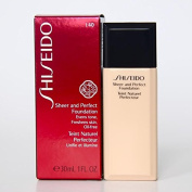 SHISEIDO Sheer and Perfect Foundation I 40 Natural Fair Ivory Full Size 30 mL / 1 Fl. Oz. In Retail Box