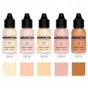 elementwo - Airbrush Makeup Starter Kit - Canvas Blend 5 x 10 ml Fair