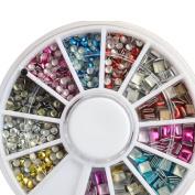 Beauty Multi colour 3D nail decoration