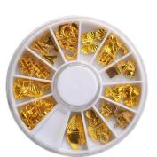 Gold Sea Designs Shell Leaf Tower Metallic