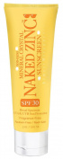 Naked Zinc SPF 30 Fragrance Free Sunscreen 90ml