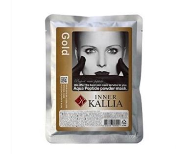 INNER KALLIA AQUA PEPTIDE POWDER GOLD 2000ML (1KG), Gel Type Modelling Mask Pack for Anti-ageing & Skin Elasticity