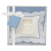 Child to Cherish Tooth Fairy-Pillow with Fairy Dust, Blue