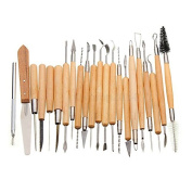 Raih 22 pcs Pottery Clay Sculpture Carving Tool Set Assorted Length