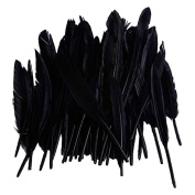EUBUY 50pcs Real Natural Goose Feathers 10-15CM For Home Party Wedding Decorations
