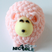Nicole R0843 Lovely Sheep Silicone Mould Soap Making Tools