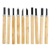 8pc Mini Wood Carving Chisels Clay Moulding Modelling Wax Precision Knife Candle