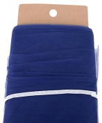 Bbcrafts Polyester Tulle Fabric Bolt, 140cm /40 yd, Navy Blue
