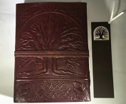 Tree of Life Leather Handmade Journal Diary Blank Book Notebook w/ FREE Matching Bookmark