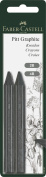 Faber Castell Pitt Graphite Crayons 2ct