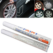 12pcs Universal Waterproof Permanent Paint Marker Pen Car Tyre Tyre Tread Rubber