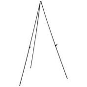 Portable Easel Stand, Black, Aluminium