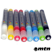 MTN 5mm Water Based Paint Markers 8-pack By Montana Colours