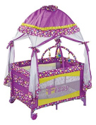 Fizzy Canopy Play Pen, Purple