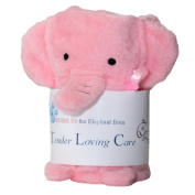 "Exclusive ""Bubbles the Elephant"" Blanket. Perfect for Bed, Receiving, Swaddling and Play!"