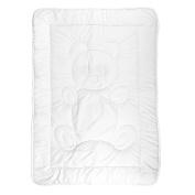 Tadpoles Toddler Comforter, Teddy Pattern/White