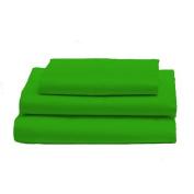 bkb Toddler Sheet Set, Apple Green